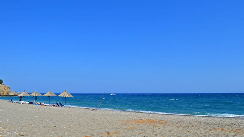 Παραλία Μακρύ-Γιαλός, Καλαμοκανιάς