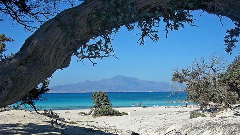 Παραλία Νήσος Χρυσή (Γαϊδουρονήσι)