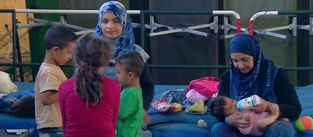HUMANITY LAST: REFUGEES STILL HOPE